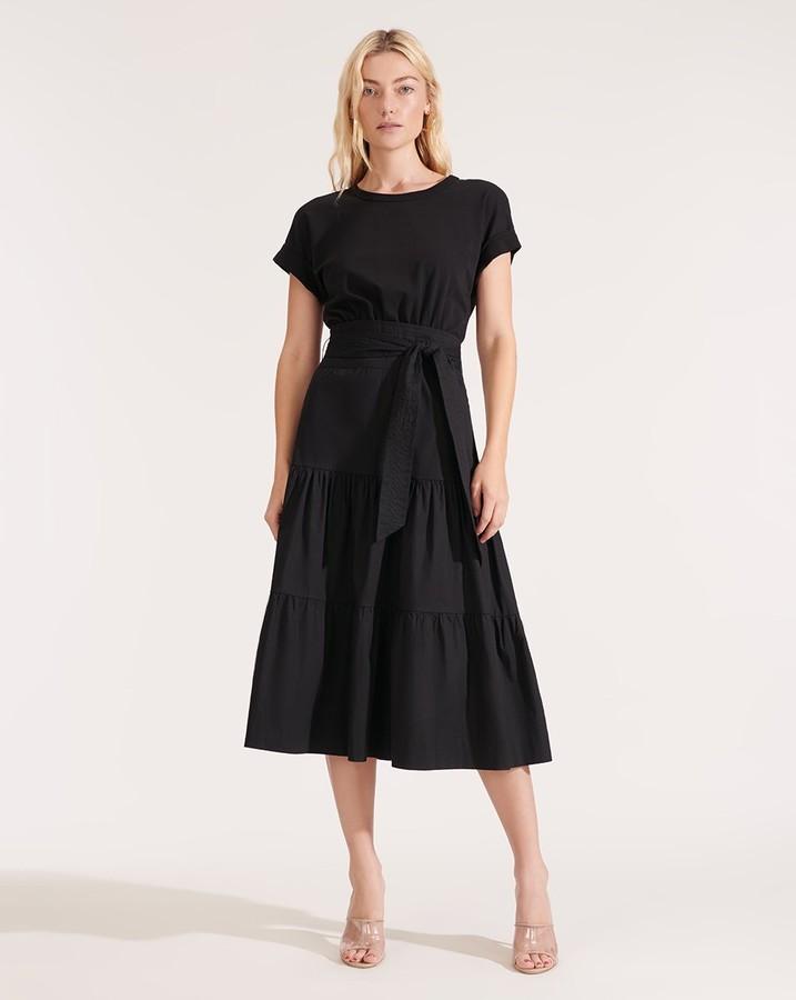Veronica Beard Trail Tiered Dress