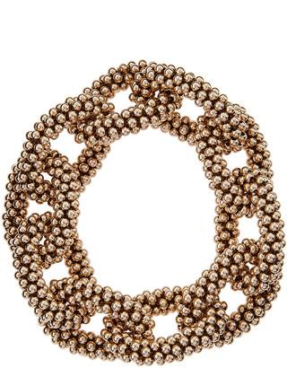 Meredith Frederick Elsa 14k Gold Beaded Link Bracelet