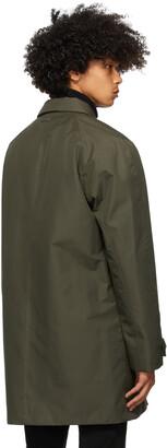 Ermenegildo Zegna Green Mac Coat