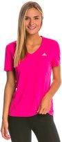 adidas Women's Ultimate Short Sleeve VNeck - 8143306