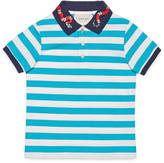 Gucci Children's cotton polo with snake
