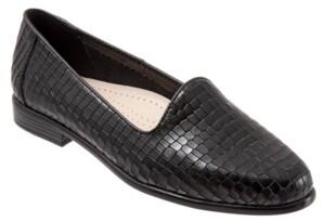 Trotters Liz Croco Flat Women's Shoes