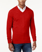 Club Room Cashmere V-Neck Solid Sweater, Only at Macy's