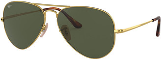 Ray-Ban Men's Evolve Metal Aviator Sunglasses