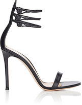 Gianvito Rossi Women's Marquis D'Orsay Sandals-BLACK