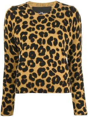 Marc Jacobs leopard print sweater