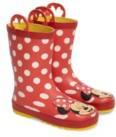 Western Chief Girl's Minnie Mouse Rain Boot