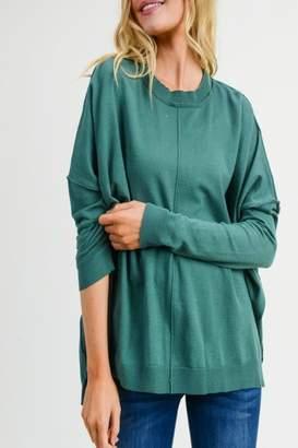 Jodifl Faux-Cashmere Sweater Top
