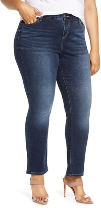 SLINK Jeans SLINK Jean High Waist Straight Leg Jeans