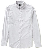 Armani Exchange Striped Jacquard Long-Sleeve Shirt