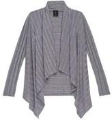 Bobeau Simone Plus Size Rib Knit Cardi.