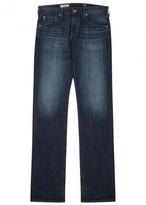 Ag Jeans Matcbox Dark Blue Straight-leg Jeans