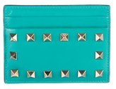 Valentino Rockstud Compact Wallet