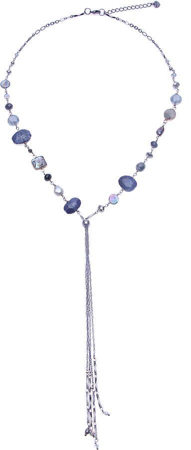 976ff45d8612d7 Drop Bead Necklace - ShopStyle