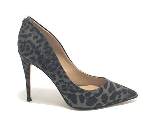 f93c3719555 Women's Okley6/decollete (Pump)/Suede Closed Toe Heels, (Brown Yellow Grey  Op A)