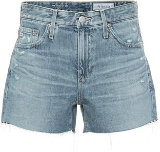 AG Jeans Hailey high-rise denim shorts