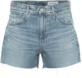 AG Jeans Hailey high-rise denim shorts