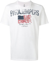 Parajumpers flag print T-shirt - men - Cotton - M