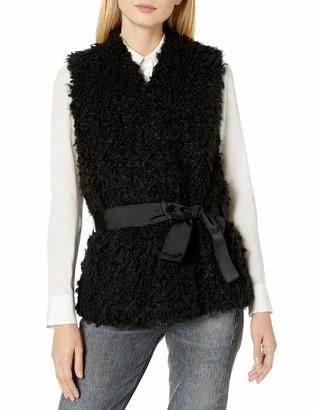 GUESS Women's Katrina Shearling Vest