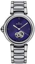 Edox Women's 85025 3M BUIN LaPassion Analog Display Swiss Automatic Silver Watch