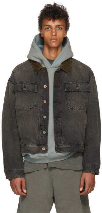Yeezy Black Denim Jacket