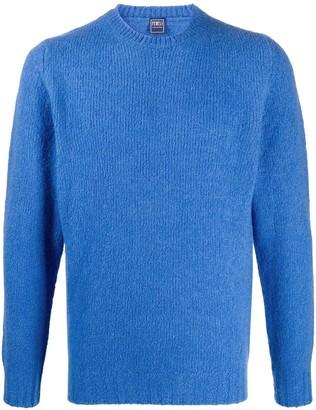 Fedeli Wool Blend Knitted Jumper