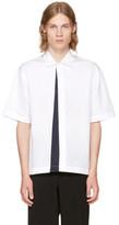 Marni White Panelled Sport Shirt