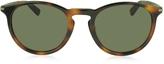 Gucci GG 1110/S 8E270 Havana Acetate Round Men's Sunglasses