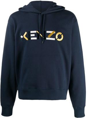 Kenzo Embroidered Logo Hoodie