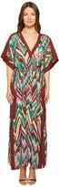 M Missoni Retro Zigzag Cotton Voile Long Cover-Up Women's Swimwear