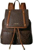 Calvin Klein Key Item Monogram Backpack Backpack Bags