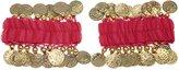 BellyLady Belly Dance Wrist Ankle Arm Cuffs Bracelets, Valentine's Gift Idea