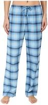 Life is Good Blue Plaid Classic Sleep Pant