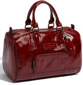 Longchamp 'Legende Verni' Patent Calfskin Leather Satchel