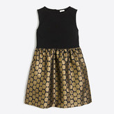 J.Crew Factory Girls' metallic dot dress