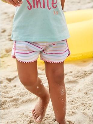 M&Co Striped jersey shorts (0mths-4yrs)