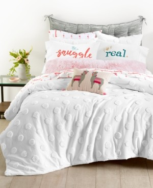 Whim by Martha Stewart Collection Chenille Dot 2-Pc. Twin/Twin Xl Comforter Set, Created for Macy's Bedding