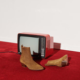 SandroSandro Leather ankle boots with elastic