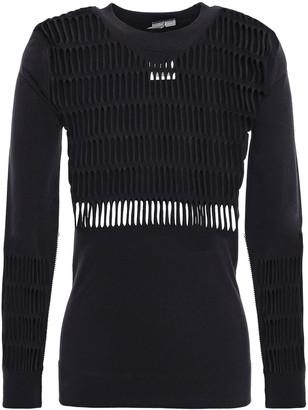 adidas by Stella McCartney + Adidas Stretch Open-knit Top