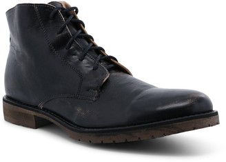 Bed Stu Men's Leather Lace-Up Work Boots - Hoover II