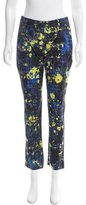 Erdem Digital Print Straight-Leg Pants w/ Tags