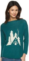 Woolrich Women's Motif Wool Blend Sweater