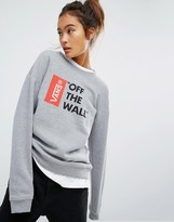 Vans Anthem Sweatshirt With Off The Wall Logo