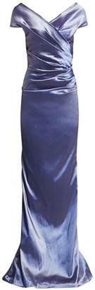 Teri Jon by Rickie Freeman Taffeta Gown