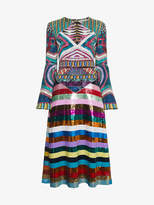 Mary Katrantzou Lark sequin embellished dress