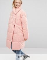 Monki Oversized Padded Coat