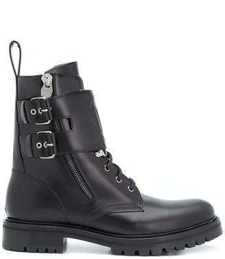 Balmain Chunky Ankle Boots