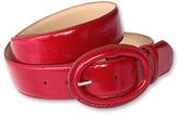 Crinkle-patent belt