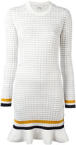 3.1 Phillip Lim long sleeve knit dress - women - Cotton/Spandex/Elastane - L