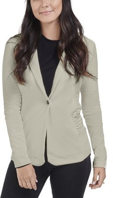 Seek No Further Women's Long Sleeve Open Front Fitted Blazer